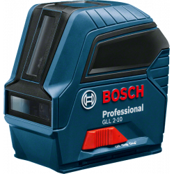 Niveau laser 2 lignes GLL 2-10 BOSCH 0601063L00