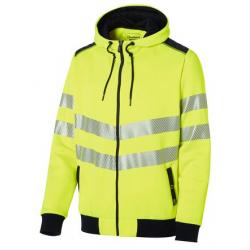 Sweat zippé à capuche haute-visibilité luk-light MOLINEL 0482 (déclinaison)
