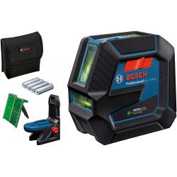 Niveau combiné lasers et points GCL 2-50 G vert + support RM 10 BOSCH 0601066M00