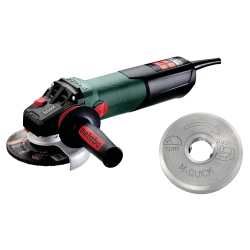 Meuleuse 125 mm WEV17-125 QUICK INOX METABO 600517000