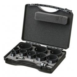Coffret scie trépan bi-métal 9 diamètres - STROXX