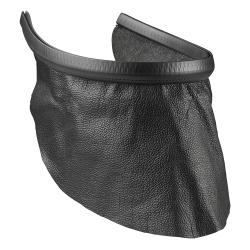 Bavette cuir pour masque