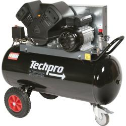 Compresseur 100 litres TP20/100 avec support TECHPRO