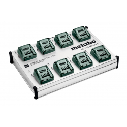 Station de recharge rapide ASC 55 MULTI 8, 12-36V METABO 627093000