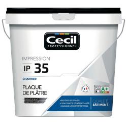 Peinture d'impression IP35 15L plaque de plâtre CECIL 118845