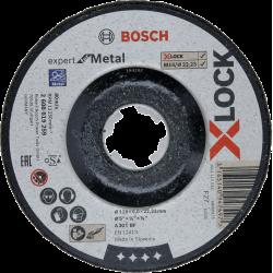 Disque à tronçonner droit 125 mm X-LOCK Expert For Metal Bosch 2608619254
