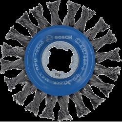 Brosse circulaire à fils torsadés pour métal X-LOCK BOSCH 2608620731