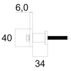 Kit rail et supports muraux Bario 1 et 2