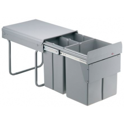 CLEM - Poubelle coulissante 40 litres WESCO