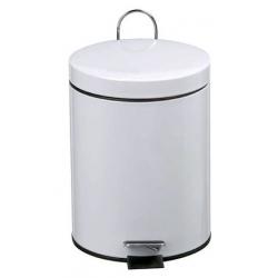 CLEM - Poubelle ronde à pédale 5 litres ROSSIGNOL