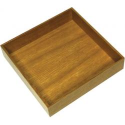 CLEM - Boîte carrée bois KESSEBOHMER