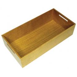 CLEM - Boîte rectangulaire bois avec poignées pour bloc-tiroir KESSEBOHMER