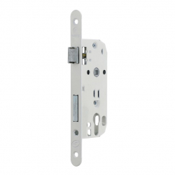 Serrure axe 40 mm NF Finition blanc - MARQUES