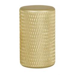 Bouton GRAF aluminium anodisé doré VIEFE