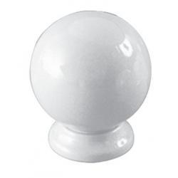 CLEM - Bouton poli dur 5201 zamak blanc ESTAMP