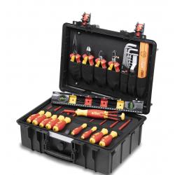 Mallette électricien 34 outils WIHA 44505