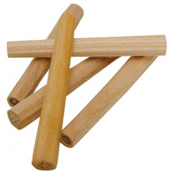 Cheville bois octogonale Merisier