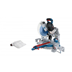 Scie à onglet radiale sans fil GCM 18V-305 GDC SOLO Bi Turbo BOSCH 0601B43000