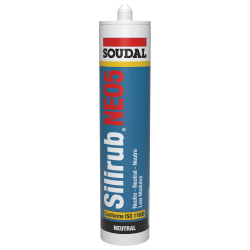 Mastic silicone Silirub NEO5 SOUDAL