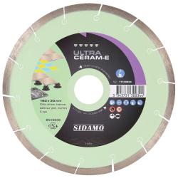 Disque diamant 250 mm Ultra Céram-E SIDAMO