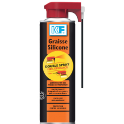 Graisse silicone double spray KF