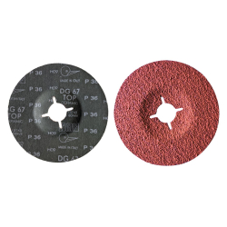 Disque fibre céramique anti échauffement 125 mm TAF