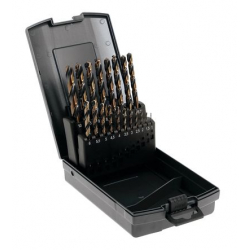 Coffret de 19 forets métaux HSS TECHPRO AP110/GBX