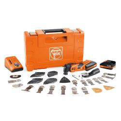 Scie oscillante 18V MULTIMASTER AMM 700 MAX TOP sans fil + 60 accessoires FEIN 71293461000