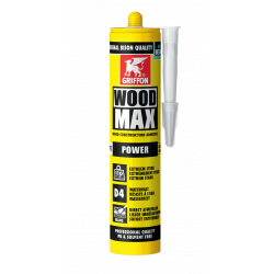 Colle WOODMAX cartouche 380 g GRIFFON 6311124