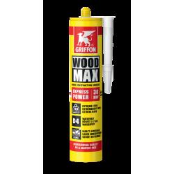 Colle à bois WOODMAX EXPRESS cartouche 380g GRIFFON 6313648