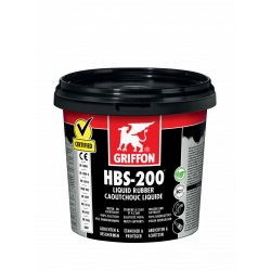 Enduit caoutchouc liquide HBS-200 - 1 litre - GRIFFON 6308866