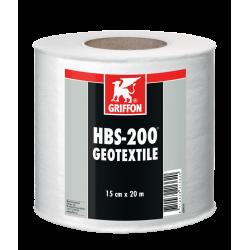 Toile geotextile HBS-200 - rouleau 15 cm X 20 m - GRIFFON 6308952
