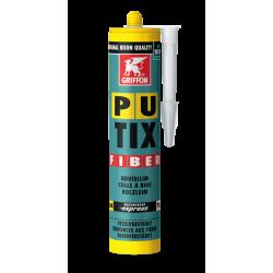 Colle PU-TIX fibre - cartouche 340g jaune - GRIFFON 6305084