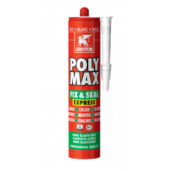 Colle poly max fix seal 425gr blanc