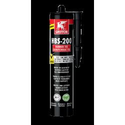 Enduit HBS-200® caoutchouc TIX liquide - 310g noir - GRIFFON 6312857