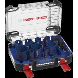 Coffret trépan carbure (20/22/25/32/35/40/44/51/60/68/76 mm) Power Change EXPERT TOUGH MATERIAL - 14 pièces - BOSCH 2608900448