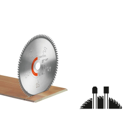 Lame de scie circulaire LAMINATE/HPL HW 254x2,4x30 TF80 L FESTOOL 575977