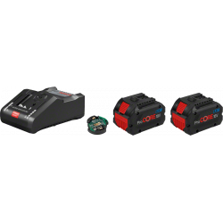 Pack chargeur 2 batteries 18V 8Ah Procore + chargeur GAL 18V-160 C + module bluetooth GCY 42 BOSCH 1600A016GP