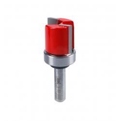 Fraise à affleurer avec roulement supérieur Ø 16 mm - Ø Q8 mm - L 20/60 mm FREUD F03FR02005