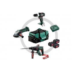 Lot 3 outils sans fil 18 V 2 x 18 5,2 Ah METABO 691062000