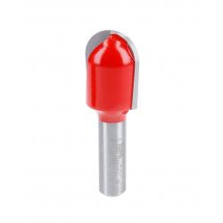 Fraise à gorge à roulement supérieur téflon Ø 25,4 - Ø Q12 - L 317,/72 - R12,7 mm FREUD F03FR01608