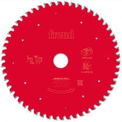 Lame alu / PVC Ø 160 mm - AL 20 mm - 1,8/1,3 mm - 54 dents FREUD F03FS10085