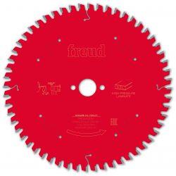 Lame HPL Ø 190 mm - AL 20 mm - 56 dents - E 2,6/1,6 mm FREUD F03FS09867