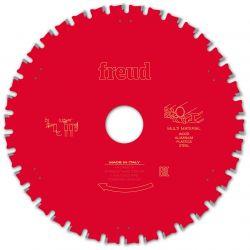 Lame multi-matériaux Ø 190 mm - AL 30 mm - E 2/1,6 mm - 38 dents FREUD F03FS10041