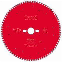 Lame Alu/PVC pour scie circulaire - Ø 254 mm - AL 30 mm - 80 dents FREUD F03FS09823