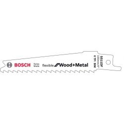 Lame scie sabre bois Bi-métal X5 S 511 DF BOSCH