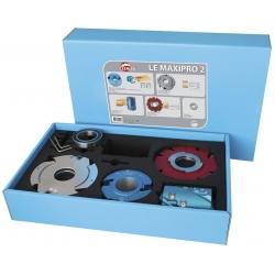 Coffret spécial toupie alesage 50 mm LEMAN LEMAXIPRO2