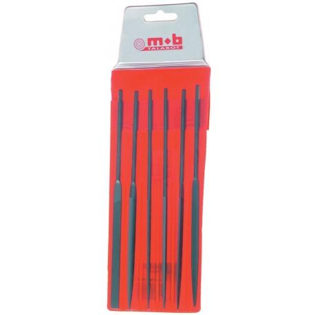 Lime de precision jeu de 6 aiguilles MOB