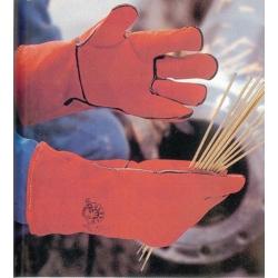 Gants de soudeur anti-chaleur en cuir de bovin T10