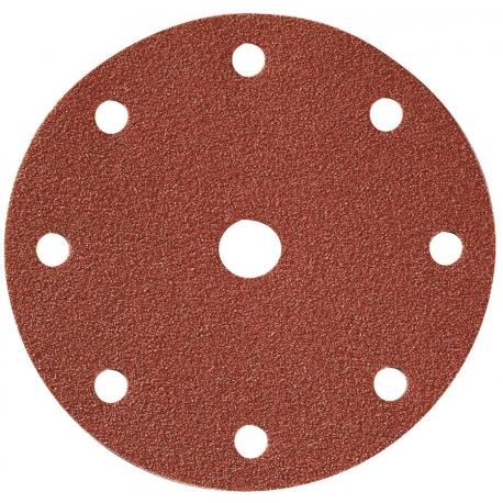 Disque papier Ø 150 mm - 8 + 1 trous SIA